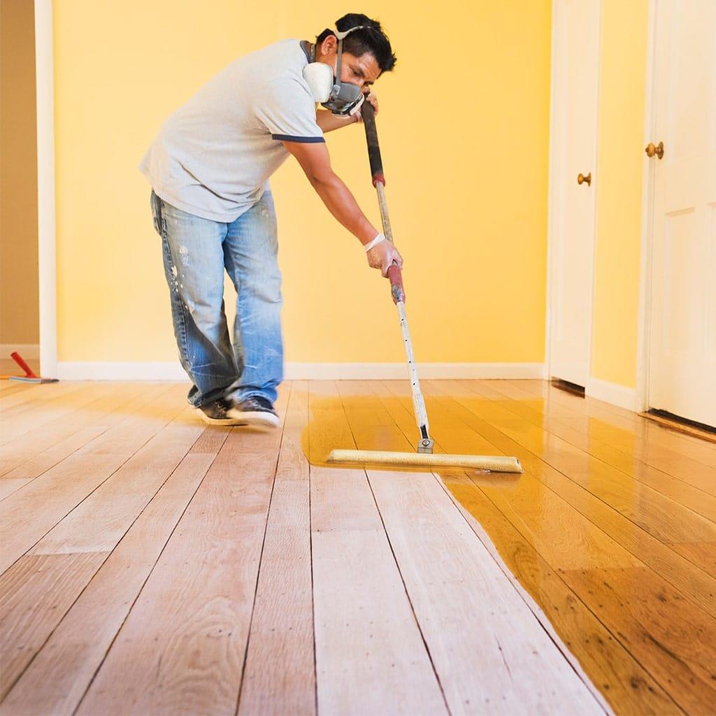 lackering av golv